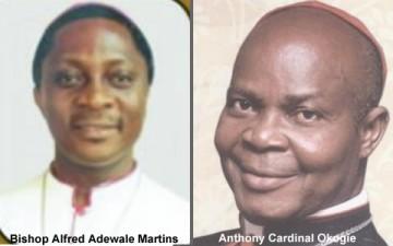 Bishop Okogie retires as Archbishop of Lagos, new Bishop is Adewale Martins
