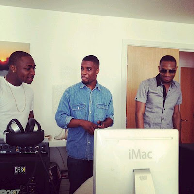 D'Banj and Davido working on something new
