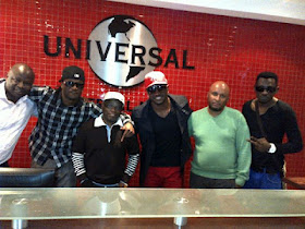 P-Square signs deal with Universal Records (South Africa)