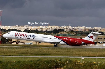 Federal Government withdraws operating License of Dana Airline