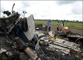 Nigerian Cargo Plane Crashes In Accra!!